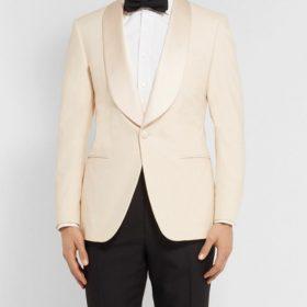 Eggsy Kingsman Ivory Dinner Tuxedo blazer