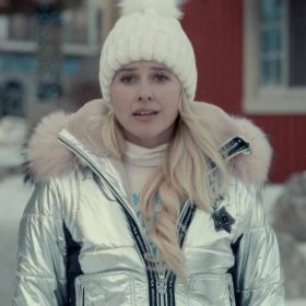 Sarah Wright Spinning Out Puffer Jacket