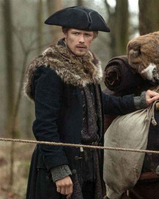 Outlander Season 04 Sam Heughan Jamie Fraser Coat
