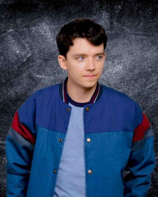 Otis Milburn Blue Jacket