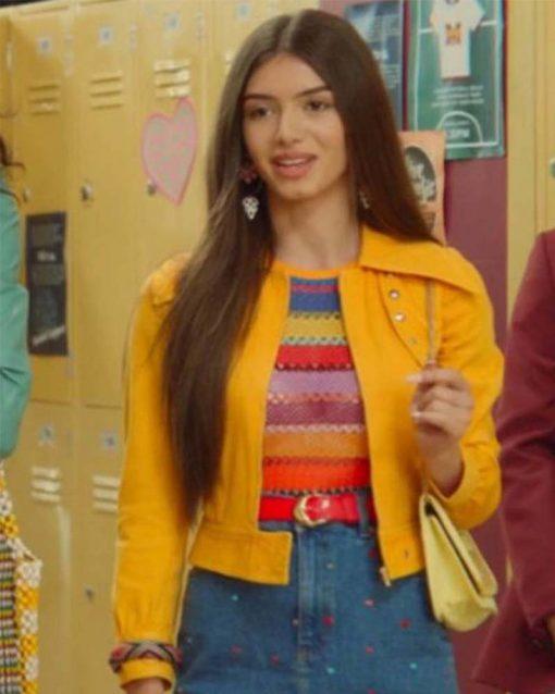 Sex Education S02 Mimi Keene Ruby Yellow Jacket