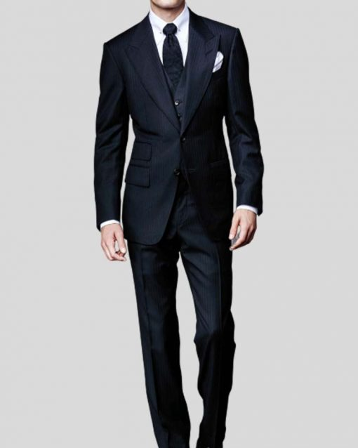 Spectre James Bond Herringbone Suit
