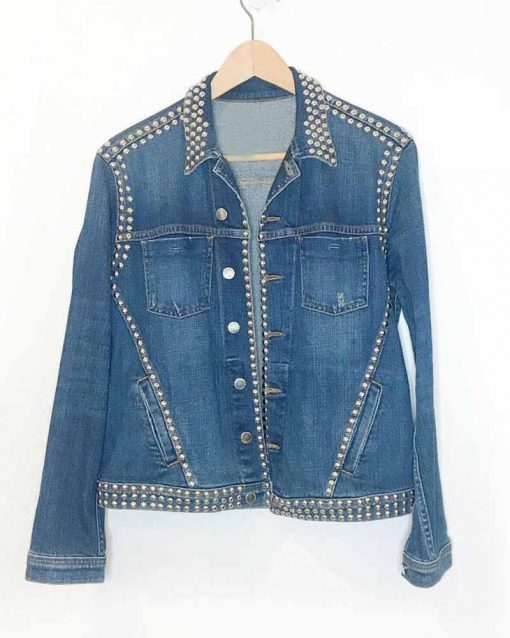 Spinning Out Amanda Zhou Studded Jacket