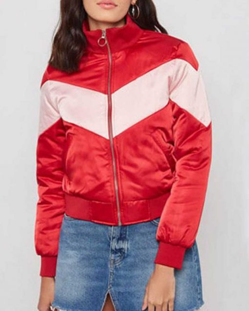Spinning Out Willow Shields Bomber Jacket