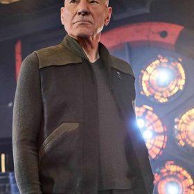Patrick Stewart Star Trek Picard Vest