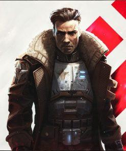 Star Union Commander Age of Wonders Planetfall Coat