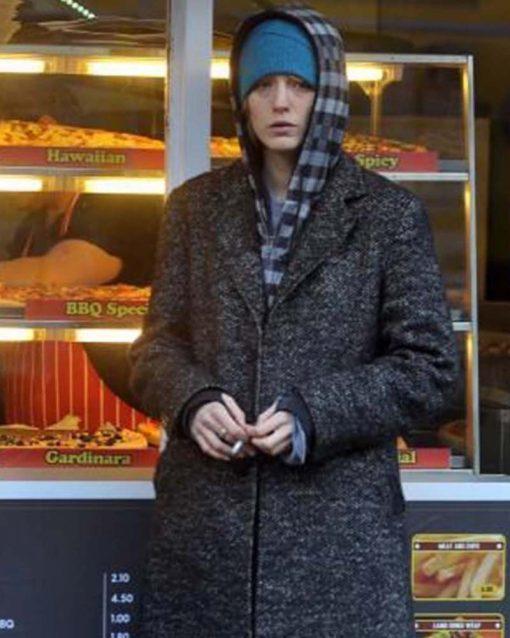 Blake Lively The Rhythm Section Grey Coat