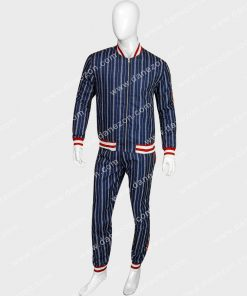 Dark Blue Jogging Tracksuit