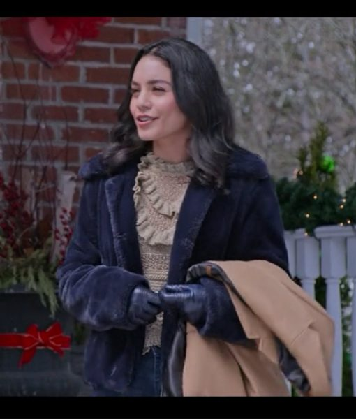 The Knight Before Christmas Vanessa Hudgens Blue Jacket