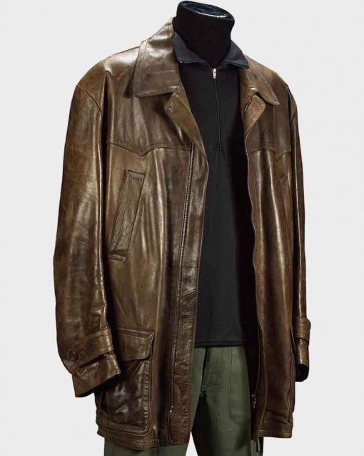 Pierce Brosnan Tomorrow Never Dies James Bond Leather Jacket