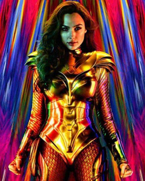 Wonder Woman 1984 Golden Corset