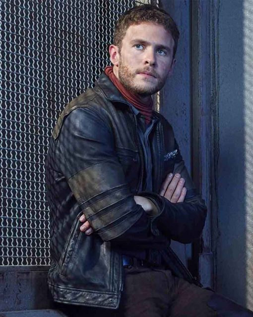 Agents Of Shield Iain De Caestecker Leather Jacket