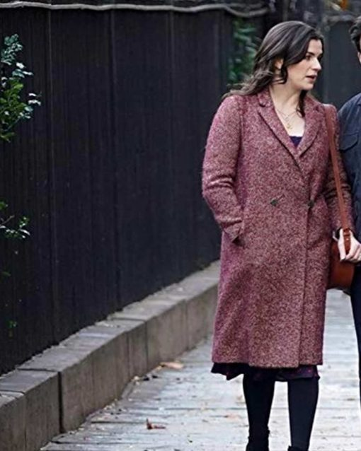 Kate Elliot Living With Yours Maroon Coat