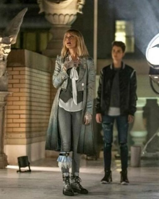 Batwoman Rachel Skarsten Silver Tail Coat