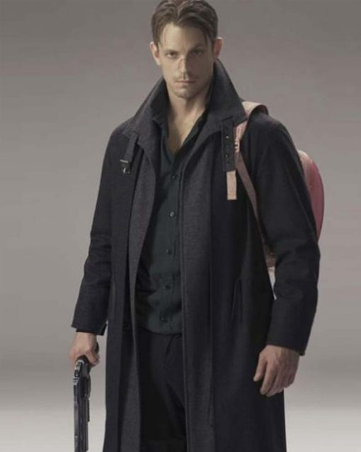 Joel Kinnaman Altered Carbon Takeshi Kovacs Trench Coat
