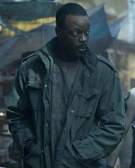 Altered Carbon Military Vernon Elliot Jacket
