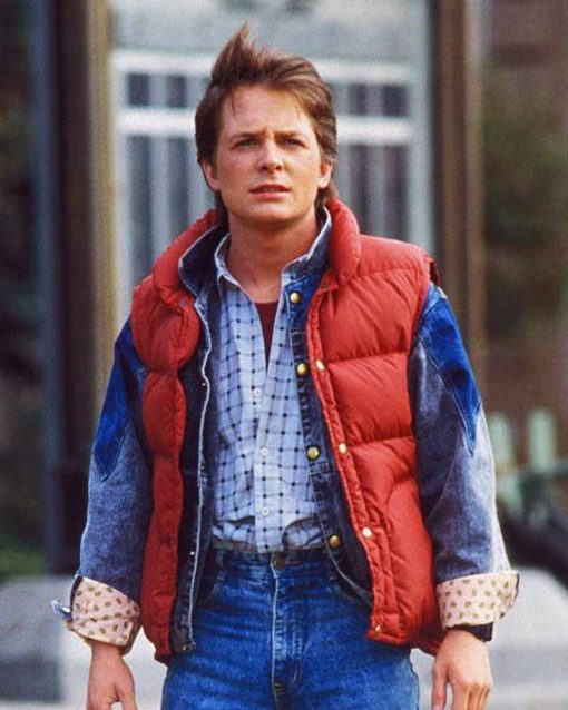 Back To The Future Michael J. Fox Vest
