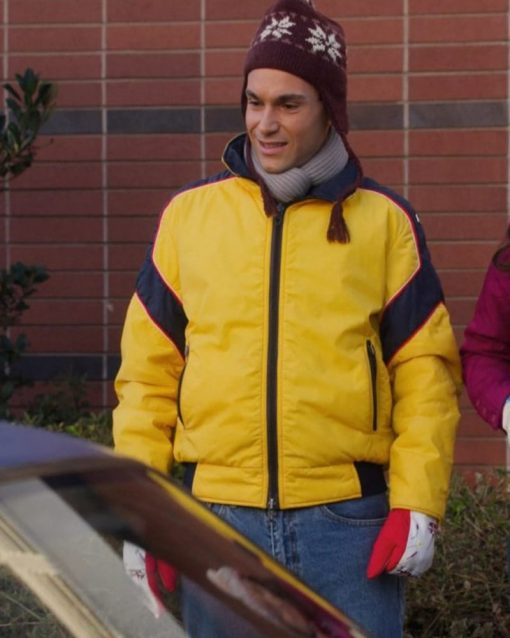 Troy Gentile Yellow Cotton Jacket