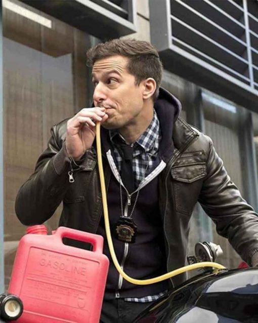 Brooklyn Nine-Nine Andy Samberg Leather Jake Peralta Jacket