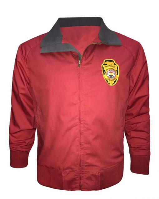Baywatch Bomber Red Jacket