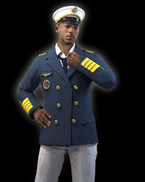 Garena Free Fire Video Game Double Breasted Ford Coat