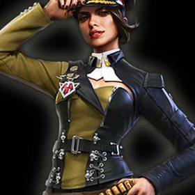 Battle Royale Garena Free Fire Paloma Leather Jacket