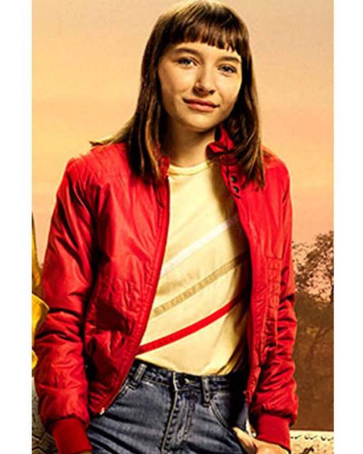 Go! 2020 Red Bomber Mandy Zeta Jacket