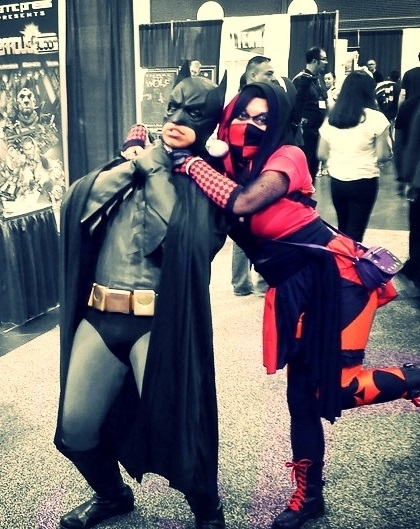 Harley Quinn and Batman Cosplay