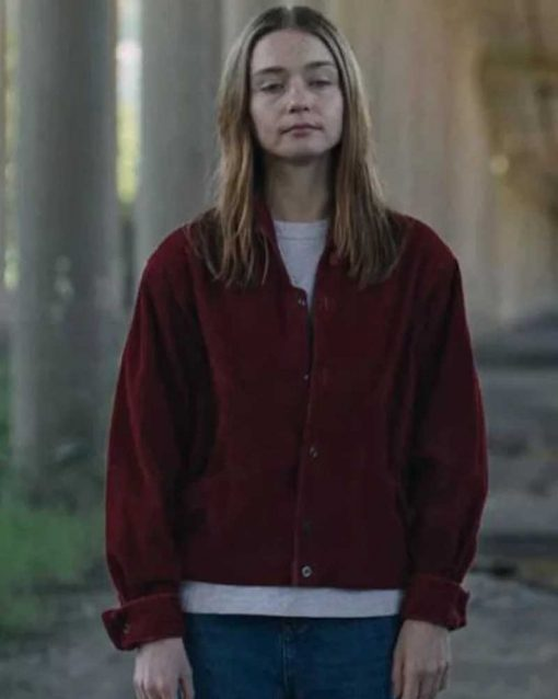The End of the F***ing World Alyssa Red Corduroy Jacket
