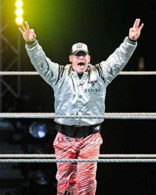 WWE Star John Cena Goofy Riberia Bomber Jacket