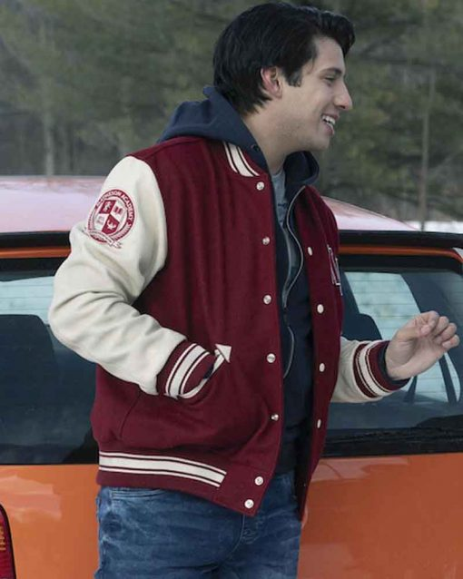 Locke and Key Kevin Alves Lettterman Javi Varsity Jacket