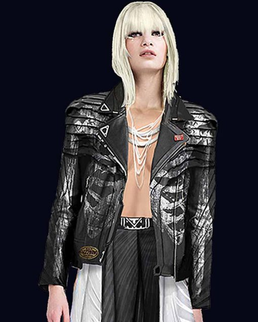 Video Game Love, Death and Robots Ivrina Leather Jacket