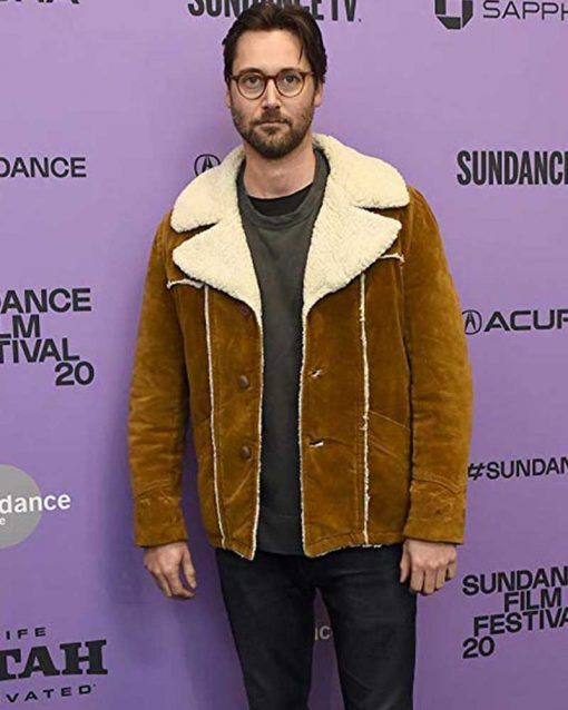 Ryan Eggold Brown Jacket
