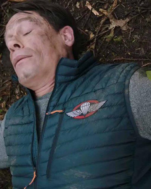 John Cena Green Polyester Vest