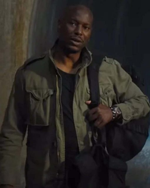 Tyrese Gibson F9 Green Cotton Jacket