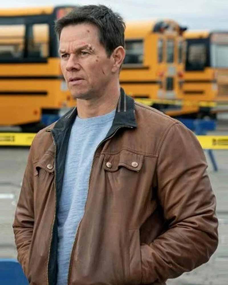 Spenser Confidential Spenser Jacket Mark Wahlberg Brown Jacket