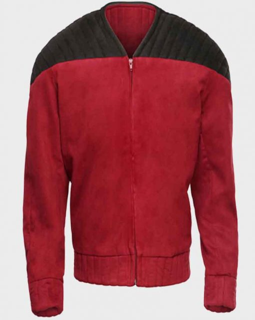 Star Trek Next Generation Capt. Jean-Luc Picard Red Jacket