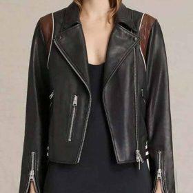 Stumptown Cobie Smulders Black Leather Jacket