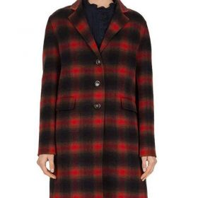 Stumptown Cobie Smulders Plaid Coat