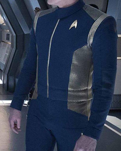 Star Trek Discovery TV Series Blue Uniform Jacket
