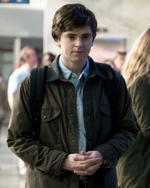 The Good Doctor Freddie Highmore Dr Shaun Murphy Jacket