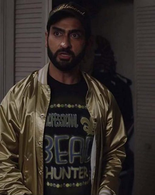 The Lovebirds Kumail Nanjiani Bomber Jacket
