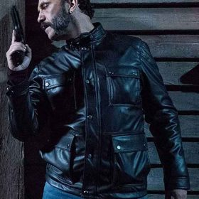 The Whistlers Cristóbal Pinto Black Leather Jacket