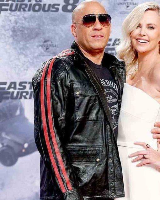 Fast And Furious Vin Diesel Premiere Black Jacket