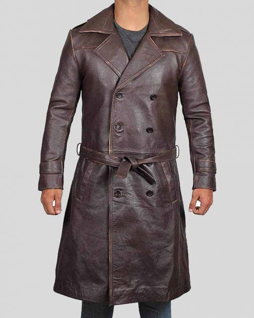 Jackie Earle Haley Watchmen Rorschach Coat