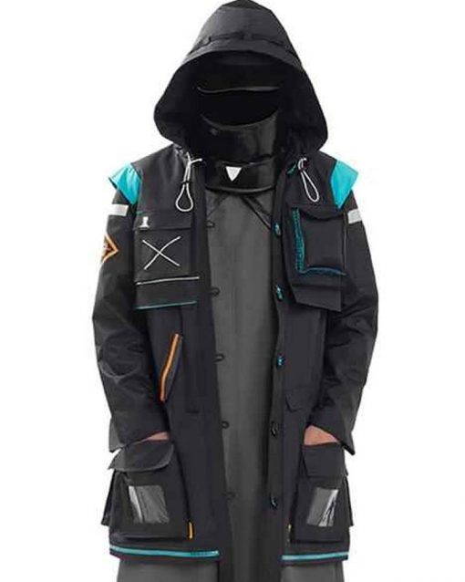 Arknights Doctor Coat With Hood