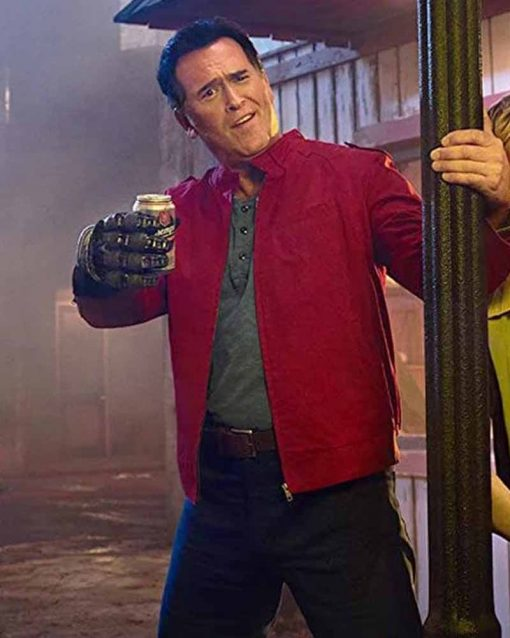 Bruce Campbell Ash vs Evil Dead Ash Williams Cotton Jacket