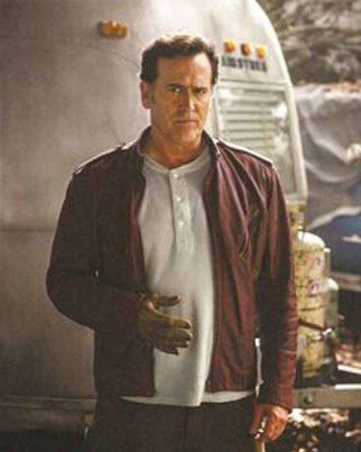 Ash vs Evil Dead Bruce Campbell Brown Jacket