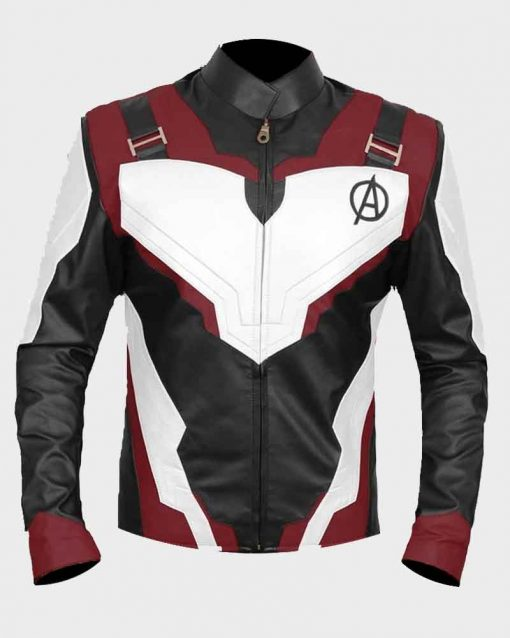 Avengers Endgame Leather Quantum Realm Jacket