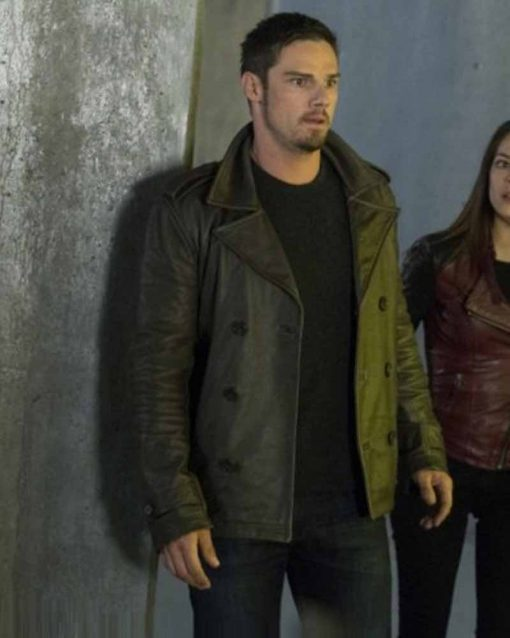 Beauty And The Beast Vincent Keller Jay Ryan Leather Jacket